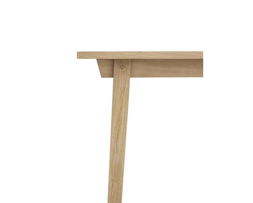 Normann Copenhagen - Slice Tisch - oak - M - 5