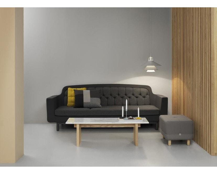 Normann Copenhagen - Solid Couchtisch - Marmor, Eiche - 11