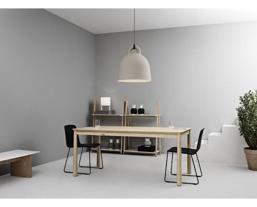 Normann Copenhagen - Solid Couchtisch - Marmor, Eiche - 12