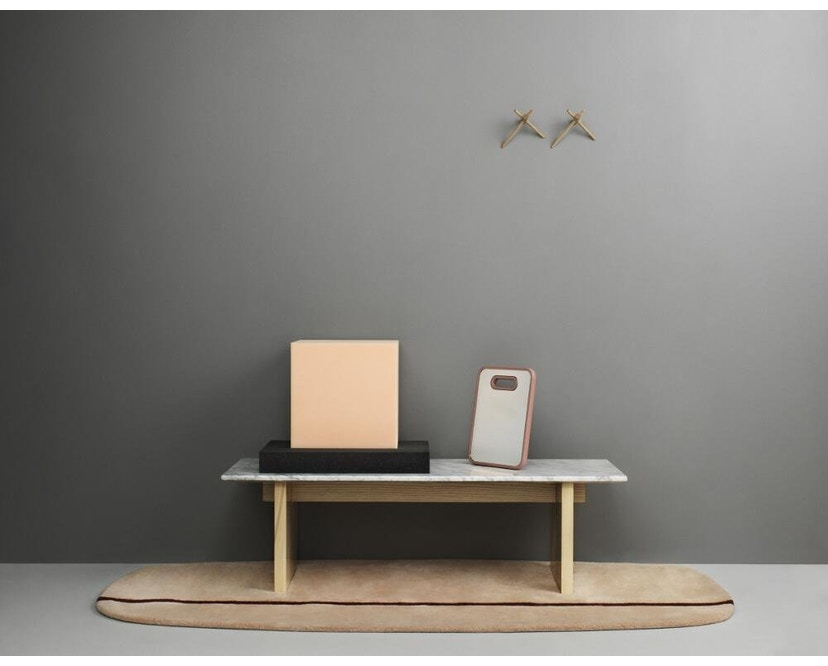 Normann Copenhagen - Solid Couchtisch - Marmor, Eiche - 8