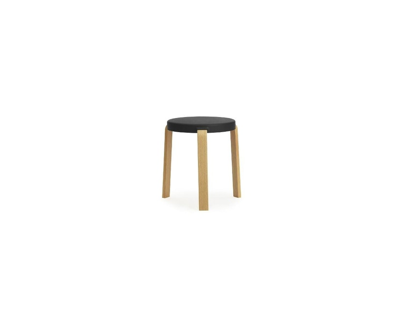 Normann Copenhagen - Tap Hocker - Oak/ black - 2
