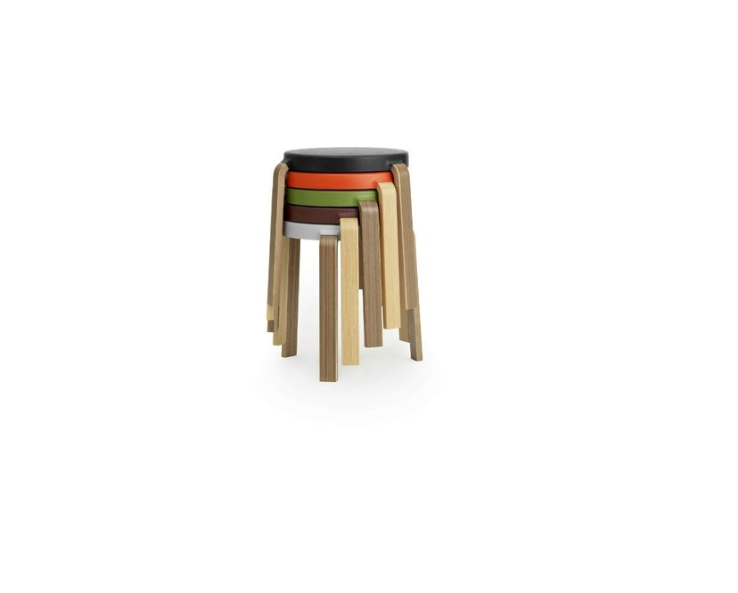 Normann Copenhagen - Tap Hocker - Oak/ black - 3