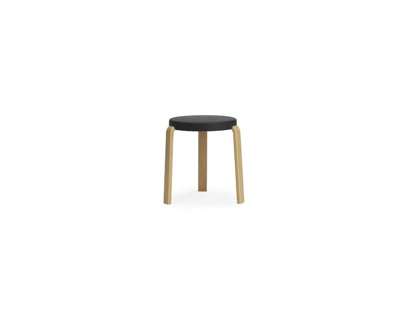 Normann Copenhagen - Tap Hocker - Oak/ black - 1