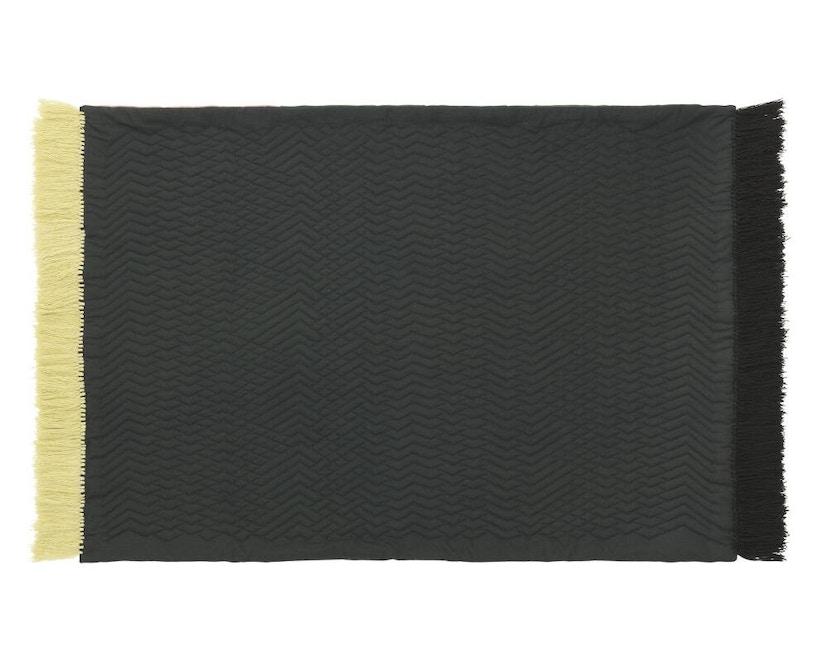 Normann Copenhagen - Trace Teppich - blush/ dark green - 2