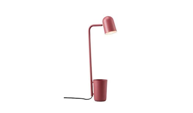 Northern - Buddy tafellamp - rood - 1
