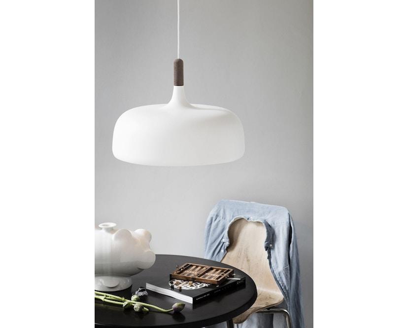 Northern - Acorn pendellamp - wit - licht berkenhout - 3