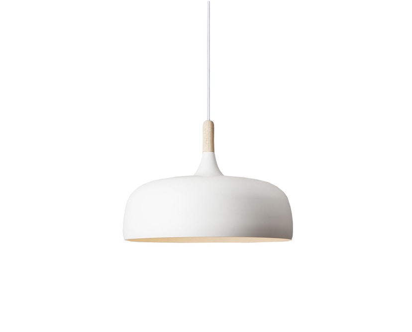 Northern - Acorn pendellamp - wit - licht berkenhout - 2