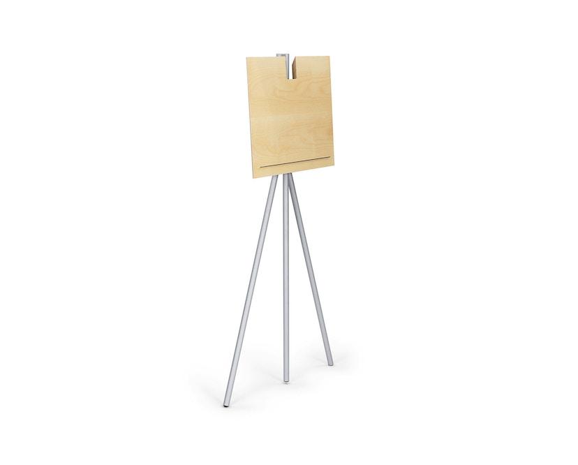Classicon - Notos Stehpult - frame zwart - es zwart - witaluminium - Esdoorn - 2