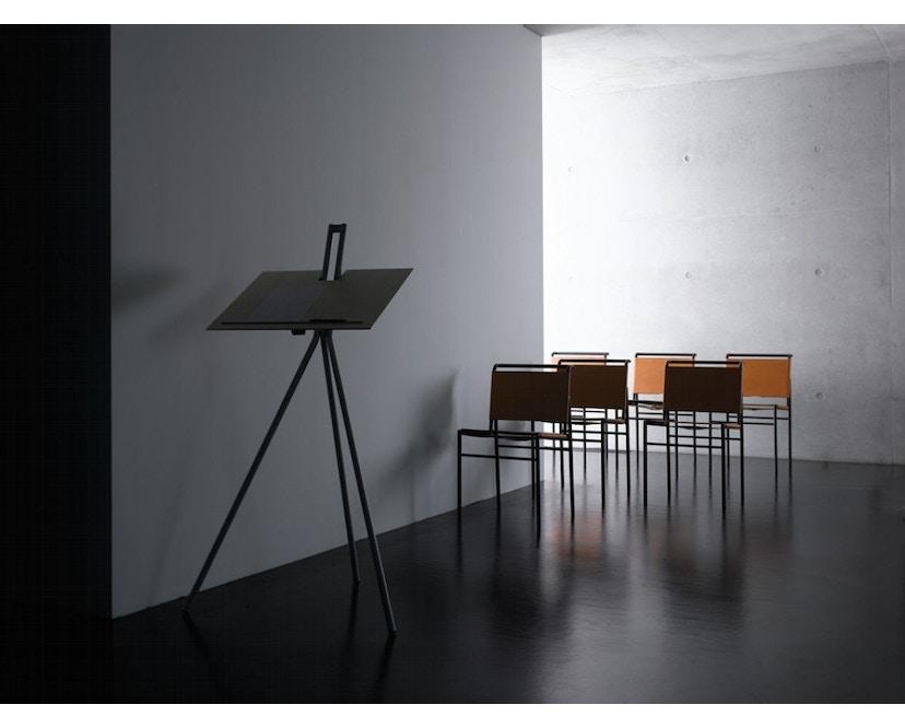 Classicon - Notos Stehpult - frame zwart - es zwart - witaluminium - Esdoorn - 5