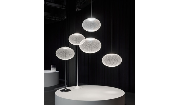 Moooi - NR2 LED Medium Pendelleuchte - weiß  - 4