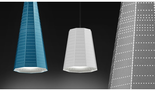 Artemide - Null Vector Beta Hängeleuchte - aluminiumgrau - 4