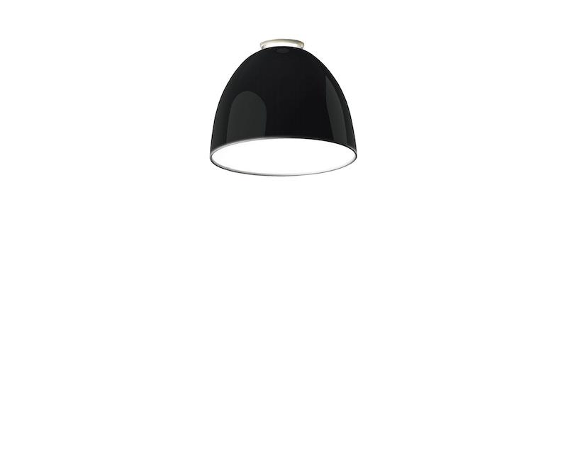 Artemide - Nur Mini plafondlamp - aluminiumgrijs - Halogeen - 1