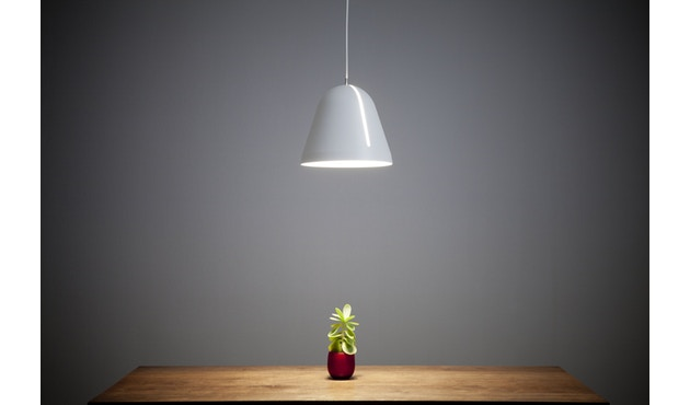 Nyta - Tilt Hängeleuchte - weiß - Kabel hellgrün 3m - 16