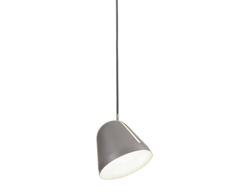 Nyta - Tilt S Hängeleuchte - grau - Kabel grau 3m - 10