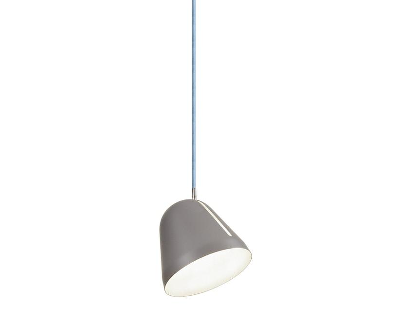 Nyta - Tilt S hanglamp - 3 m - grijs - lichtblauw - 10