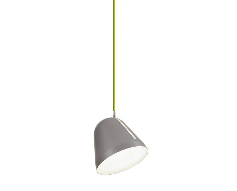 Nyta - Tilt S Hängeleuchte - grau - Kabel hellgrün 3m - 10
