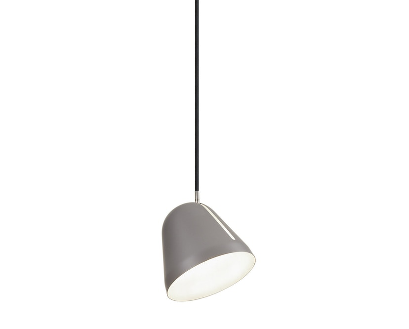 Nyta - Tilt S Hängeleuchte - grau - Kabel schwarz 3m - 10