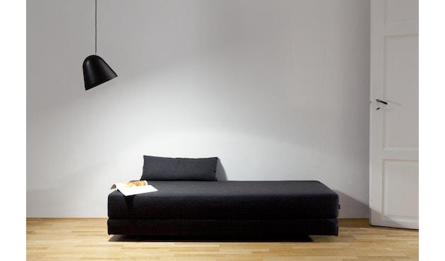 Nyta - Tilt S Hängeleuchte - grau - Kabel schwarz 3m - 19