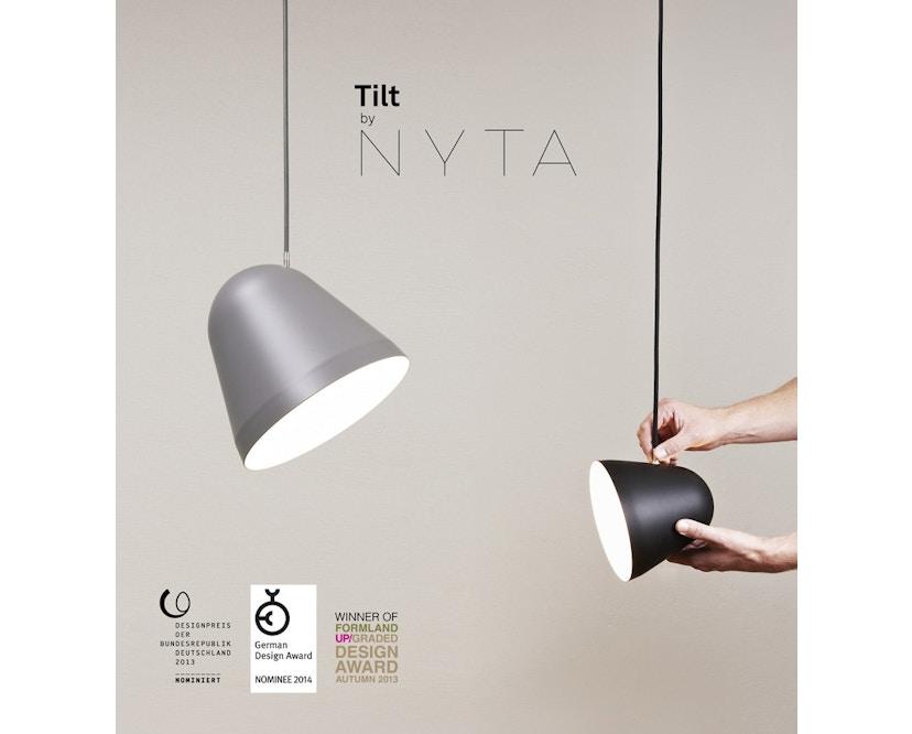 Nyta - Suspension Tilt S - blanc - noir - 3 m - 17