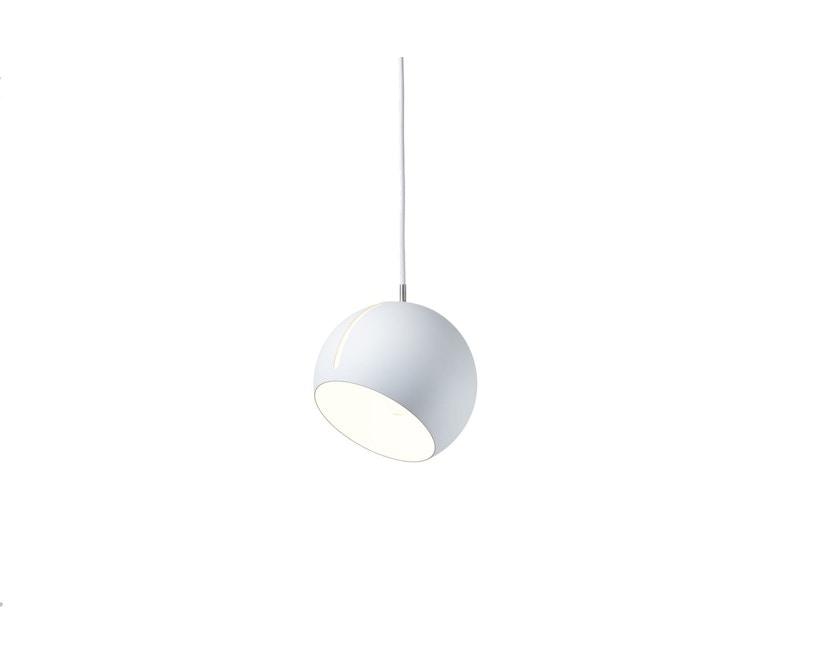 Nyta - Tilt Globe Hängeleuchte - weiß - Kabel weiß 3m - 1