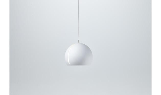 Nyta - Tilt Globe Hängeleuchte - weiß - Kabel weiß 3m - 3