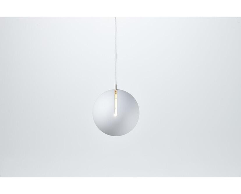 Nyta - Tilt Globe Hängeleuchte - weiß - Kabel weiß 3m - 4
