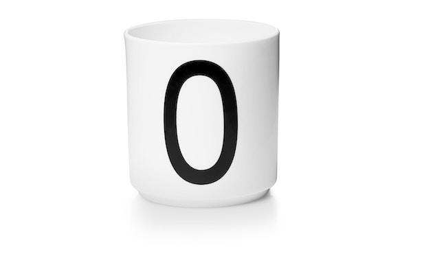 DESIGN LETTERS - Personal Porzellanbecher - weiß - O - 1