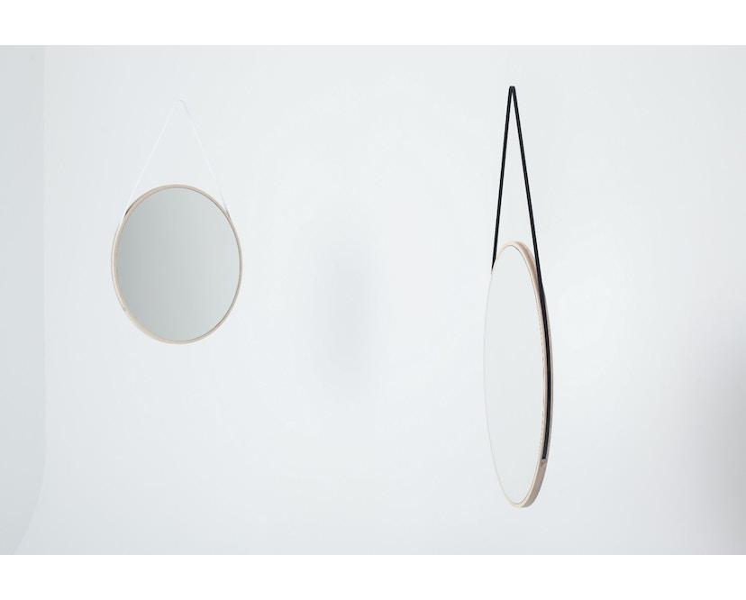Objekte unserer Tage - Spiegel SCHNEIDER Medium Schwarz - Esche geölt - 2