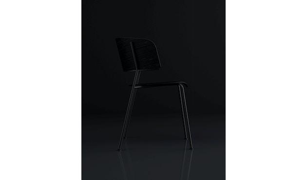 Wagner Armlehnstuhl Gestell schwarz