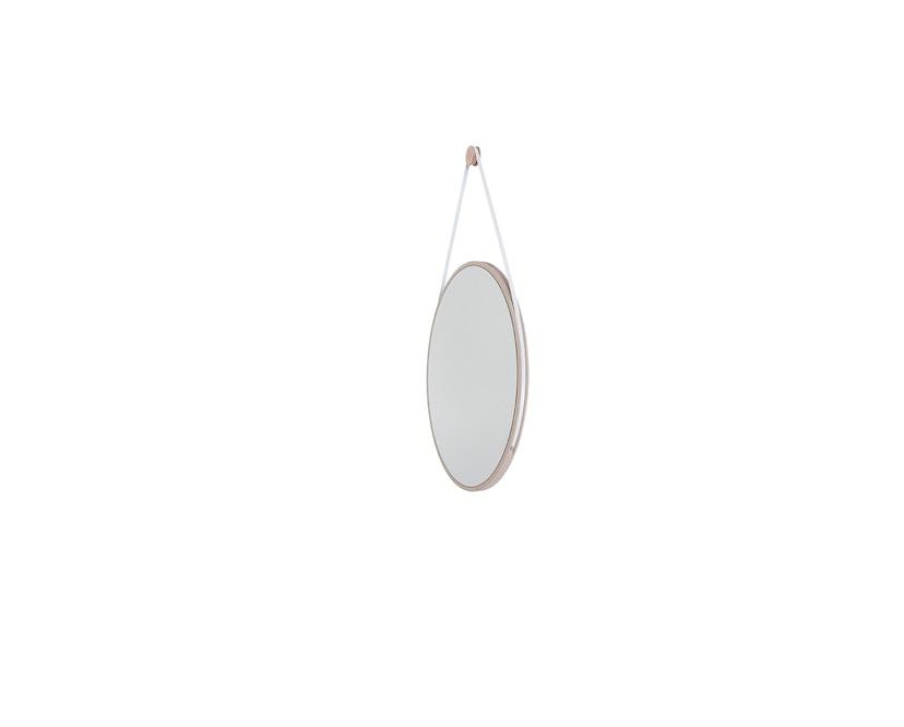 Objekte unserer Tage - Spiegel SCHNEIDER Medium Weiß - Esche geölt - 0