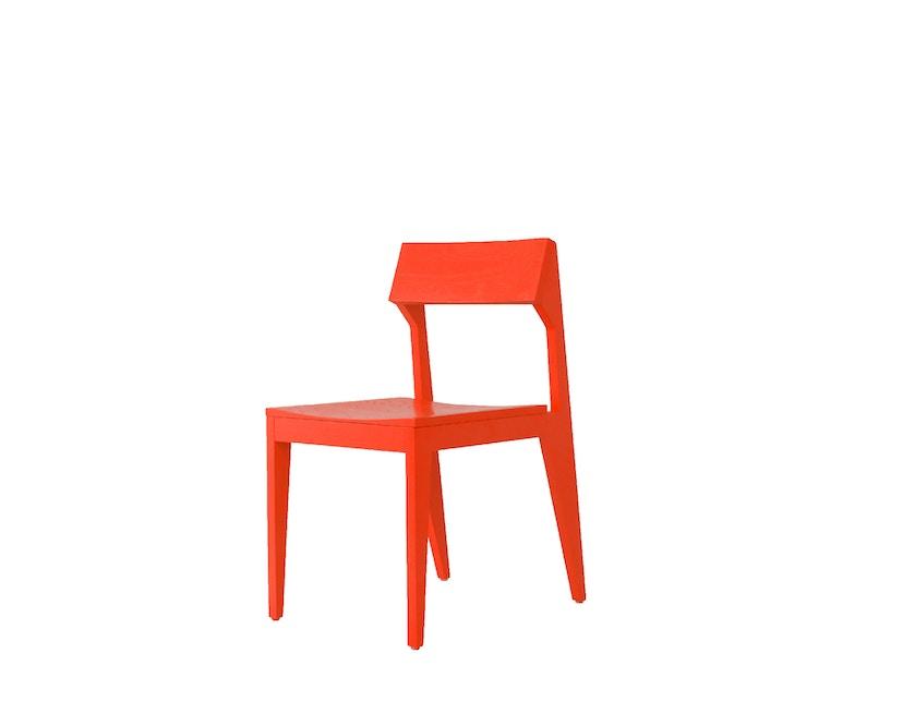 Objekte unserer Tage - Stuhl SCHULZ - Esche leuchtrot - 0