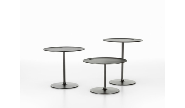Vitra - Occasional Low Tisch 35 cm - Aluminium Chocolate - 5