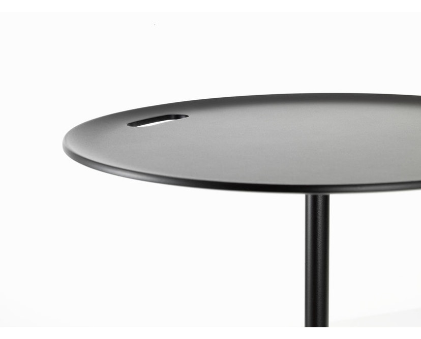 Vitra - Occasional Low Tisch 35 cm - Aluminium Chocolate - 6
