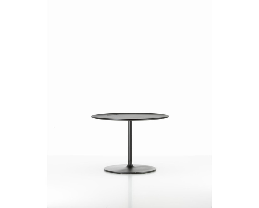 Vitra - Occasional Low Tisch 35 cm - Aluminium Chocolate - 1