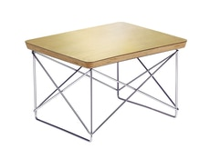 Vitra - Occasional Table LTR - Blattgold - Gestell chrom - 2