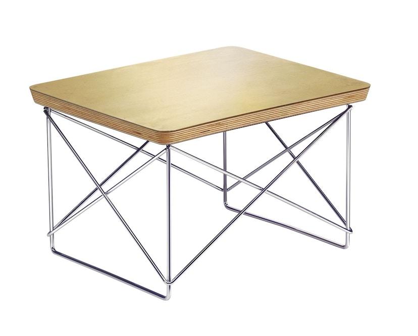 Vitra - Occasional Table LTR - Blattgold - Gestell chrom - 2