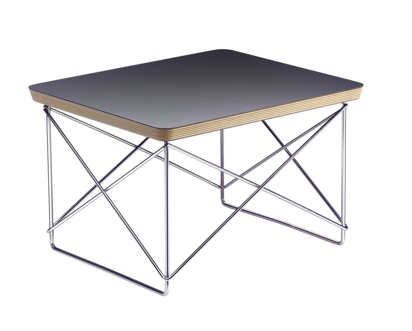 Vitra - Occasional Table LTR - schwarz - Gestell chrom - 1