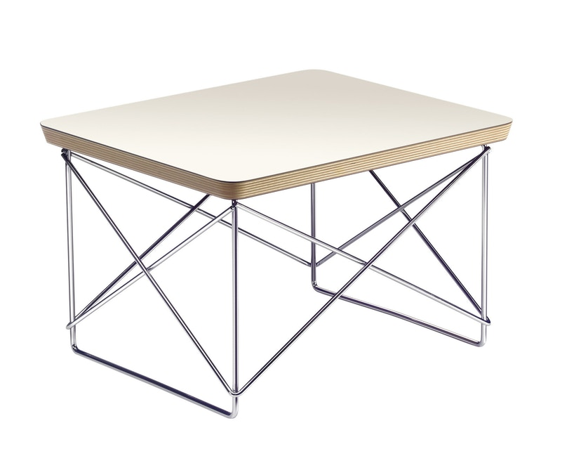 Vitra - Occasional Table LTR - wit - Chroom - 1