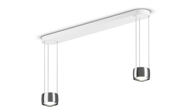 Occhio - Suspension Sento LED Sospeso Due  - sans Occhio Air - E (Diffuseur/Lentille) - chrome brillant - 1