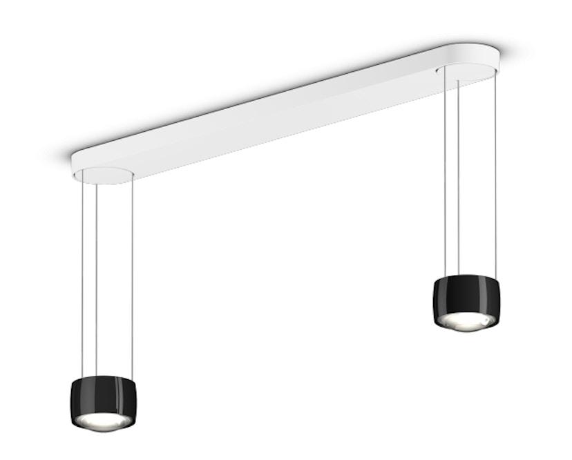 Occhio - Sento LED Sospeso Due Hanglamp - zonder Occhio Air - OcchioVersionE - zwart glans - 1
