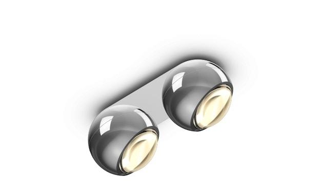 Occhio - io giro doppio volt C Plafondlamp - chroom glans - 1