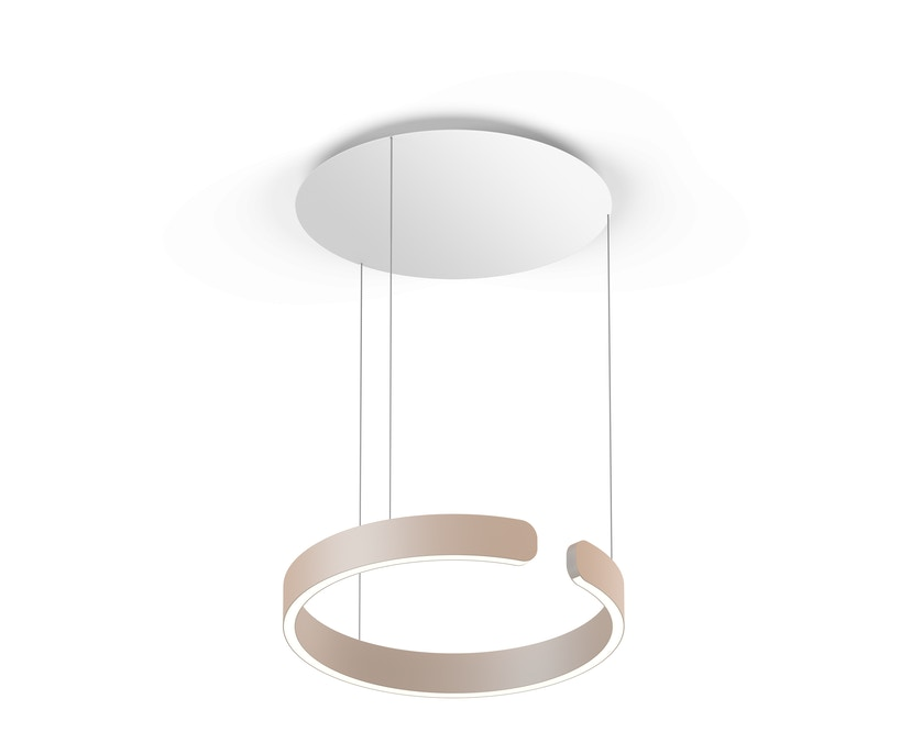 Occhio - Mito Sospeso 40 up Hanglamp - goud mat - zonder Occhio Air - vast - wide (table) - 1