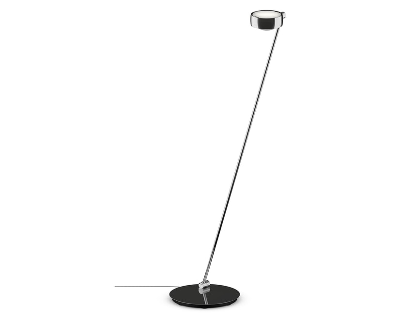 Occhio - Sento Lettura LED Stehleuchte - chrom glanz - 125 cm  links - Version C - 1