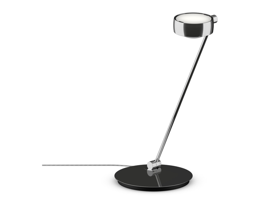 Occhio - Sento LED Tavolo Tischleuchte - chrom glanz - 60 cm  links - Version C - 1