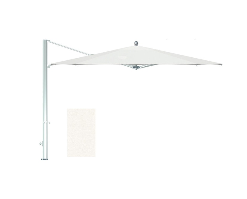 Tuuci - Ocean master MAX single cantilever Sonnenschirm - natural - 3,0 m quadratisch - 1