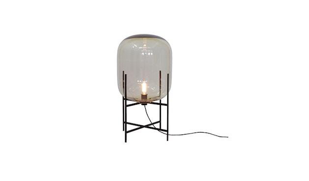 Pulpo - Oda Medium Stehleuchte - Glas amber, Untergestell schwarz - 1