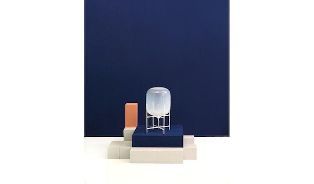 Pulpo - Oda Big Stehleuchte - Glas grau, Untergestell schwarz - 13