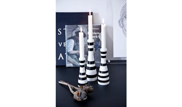 Kähler Design - Omaggio Kerzenhalter - H160 mm - schwarz - 4