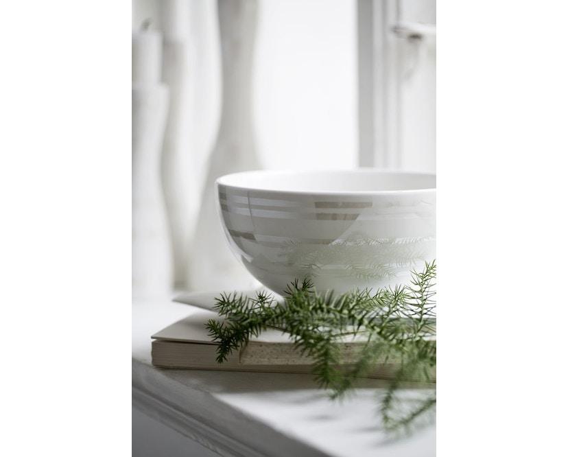 Kähler Design - Omaggio Schaal - zilver - Ø 15 cm - 3