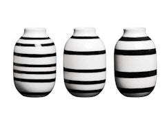 Omaggio Vase-Miniatur 3er Set
